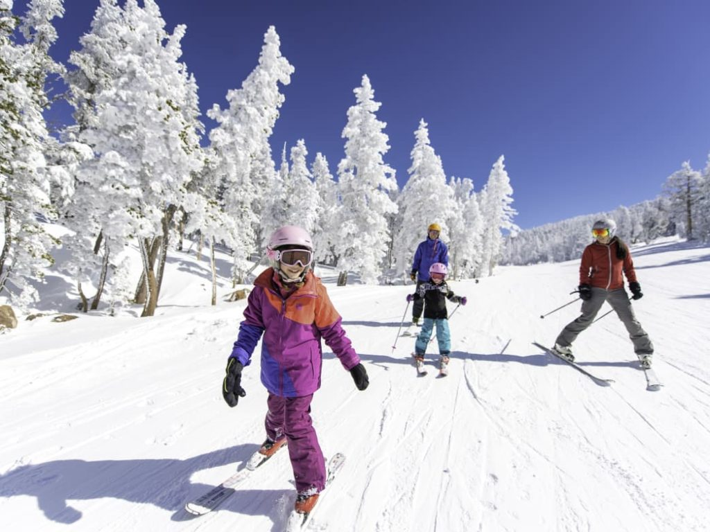 Heavenly resort is great for beginning skiers