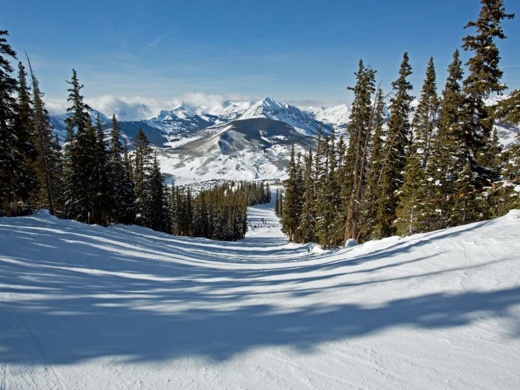 Crested Butte ski run